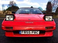 Toyota MR2 Mk1 T-Bar...rare classic sports car