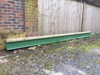 Steel I beam in excellent condition 4300L 130W 210H 30UB