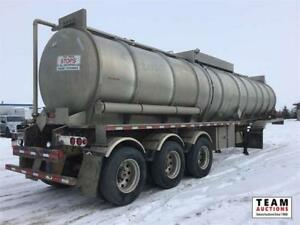 2009 Tremcar 407 Double Conical Crude Haul Lined Tri/A Tanker