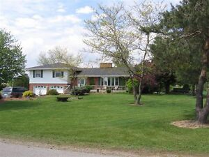 Beautiful Country Home On One Acre Lot.