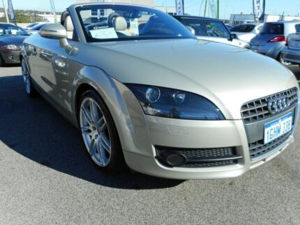 2008 Audi TT 8J MY09 S tronic Pewter Grey 6 Speed Sports Automatic Dual Clutch Roadster
