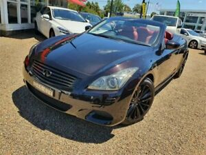 2015 Infiniti Q60 V36 S Premium Black 7 Speed Sports Automatic Convertible Sylvania Sutherland Area Preview