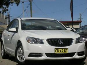 2015 Holden Commodore VF MY15 Evoke White 6 Speed Sports Automatic Sedan Condell Park Bankstown Area Preview