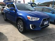 2016 Mitsubishi ASX XB MY15.5 LS 2WD Blue 6 Speed Constant Variable Wagon North Hobart Hobart City Preview