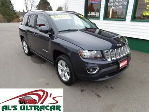 2015 Jeep Compass High Altitude 4x4 only $151 bi-weekly all in!