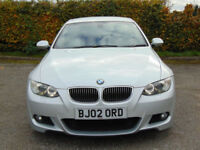 BMW 3 SERIES 3.0 325I M SPORT 2dr Auto (silver) 2009