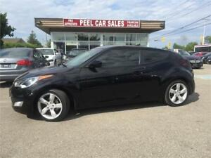 2014 Hyundai Veloster|BLACK ON BLACK|48K|ALLOYS|REAR VIEW|