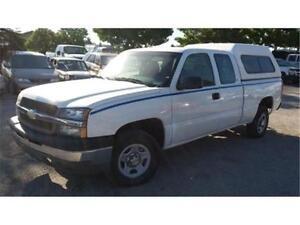 2003 Chevrolet Silverado 1500, 4X4, 4 doors, box cover, Hitch!