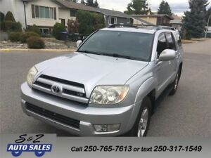2005 Toyota 4Runner Limited 4x4 3 year warranty included!