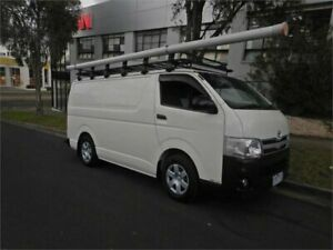 2010 Toyota HiAce KDH201R MY07 Upgrade LWB White 5 Speed Manual Van Burwood Whitehorse Area Preview