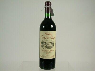 Wein Rotwein Red Wine 1991 Chateau Tertre De Sarpe Grand Cru St Emilion 431/20