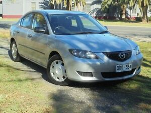 2004 Mazda 3 BK Neo Sunlight Silver 4 Speed Auto Activematic Sedan Albert Park Charles Sturt Area Preview