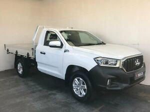 2019 LDV T60 SK8C Pro White 6 Speed Manual Cab Chassis Mount Gambier Grant Area Preview
