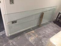 Shower Screen Glass Panel 800mm x 2100mm