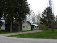 Great location! 1.06 acres! Zoned R3 Multi-family in Sicamous!