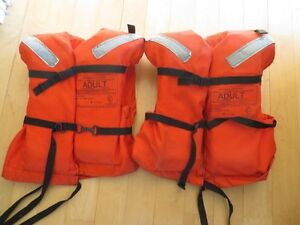 2 Off Shore Adult Life Jackets - Type I