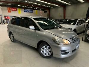 2008 Toyota Avensis Verso ACM21R GLX Silver 4 Speed Automatic Wagon Laverton North Wyndham Area Preview