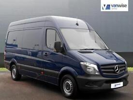 2014 Mercedes-Benz Sprinter 313 CDI MWB Diesel blue Manual