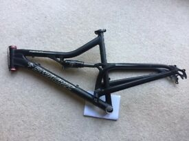 -Frame- Santa Cruz Heckler bike frame large anodised