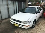 1994 Toyota Corolla AE101R White Manual Liftback Wauchope Port Macquarie City Preview