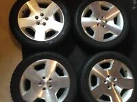 235 50 18 OEM Chevrolet SS rims on Bridgestone Blizzak LM-60