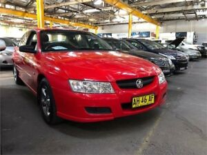 2005 Holden Commodore VZ Executive Red Automatic Sedan