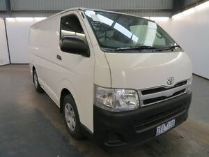 2012 Toyota Hiace KDH201R MY11 Upgrade LWB White 4 Speed Automatic Van Albion Brimbank Area Preview