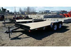 16' Car & Equipment Trailer by Precision Trailers