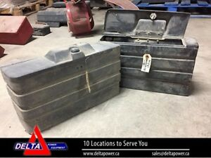 2 TOOLBOXES - FITS CASE IH 50 SERIES MAXXUM TRACTO