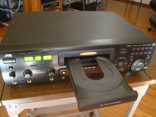 JVC XL-SV22BK Video CD/CD Player NTSC/PAL Compatibility Tested Working Condition