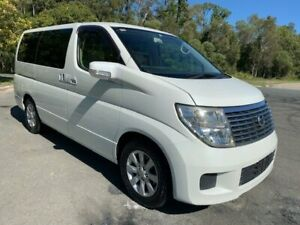 2004 Nissan Elgrand E51 VG White 5 Speed Automatic Campervan Warana Maroochydore Area Preview