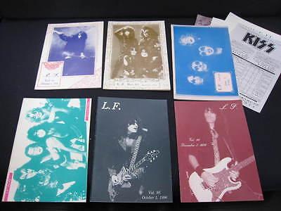 KISS L.F. Vol. 91 - 96 1996 Japan Fanzine Book Lot LF