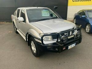2009 Nissan Navara D40 ST-X Silver Lightning 5 Speed Automatic Utility Invermay Launceston Area Preview
