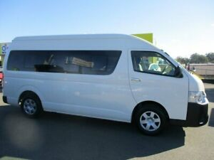 2018 Toyota HiAce KDH223R White Bus Kedron Brisbane North East Preview