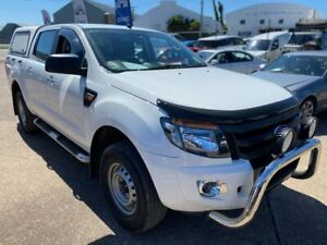 2015 Ford Ranger PX XL White 6 Speed Sports Automatic Cab Chassis Wickham Newcastle Area Preview