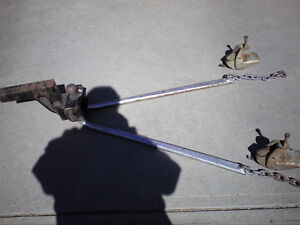Weight Distributing Hitch for sale