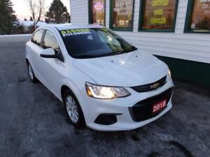 2018 Chevrolet Sonic LT for only $134 bi-weekly all in!