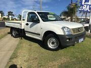 2005 Holden Rodeo RA MY05 LX White 5 Speed Manual Cab Chassis Wangara Wanneroo Area Preview