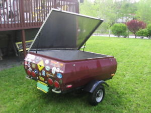 Motorcycle or small car utility trailer