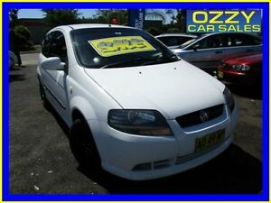 2007 Holden Barina TK MY07 White 5 Speed Manual Hatchback Minto Campbelltown Area Preview