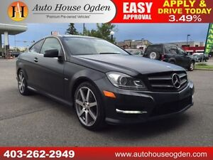 2012 Mercedes C350 RWD EDITION 1 NAVI, ROOF 90 DAYS NO PAYMENTS!
