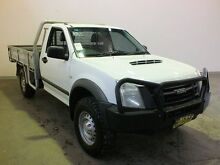 2012 Isuzu D-MAX TF MY10 SX (4x4) White 5 Speed Manual Cab Chassis Westdale Tamworth City Preview