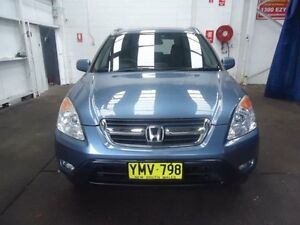 2003 Honda CR-V MY03 (4x4) Sport Blue 4 Speed Automatic Wagon Cardiff Lake Macquarie Area Preview