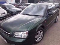SUBARU LEGACY 2.5 AUTOMATIC LEATHER GREEN 4WD 51 REG LOW MILES 90K