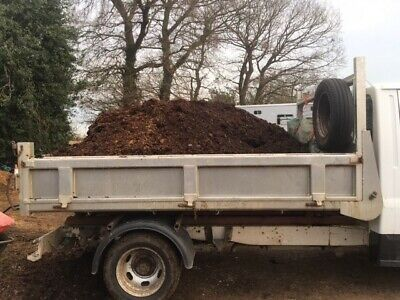 Well rotted horse manure, compost, fertiliser, soil improver