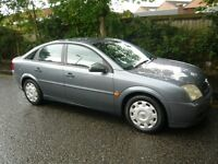 LOVELY VAUXHALL VECTRA. 12 SERVICES AT VAUXHALL'S, WHOLE CAR LOOKS AND DRIVES PERFECTLY.