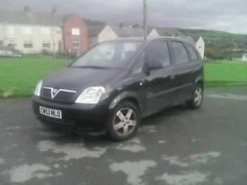 Vauxhall mariva 2004 long mot