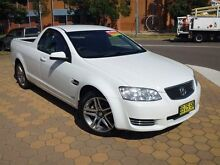 2012 Holden Commodore VE II MY12.5 Omega White 6 Speed Automatic Utility Belconnen Belconnen Area Preview