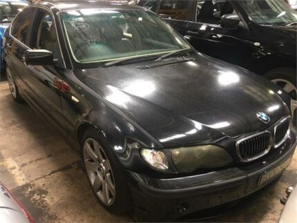 2003 BMW 325I E46 Black 5 Speed Sports Automatic Sedan