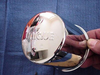 Unique Wheel Center Cap   Part Number Slip Thru  101Uqm Base 3 1 2 X 3 1 4 Tall